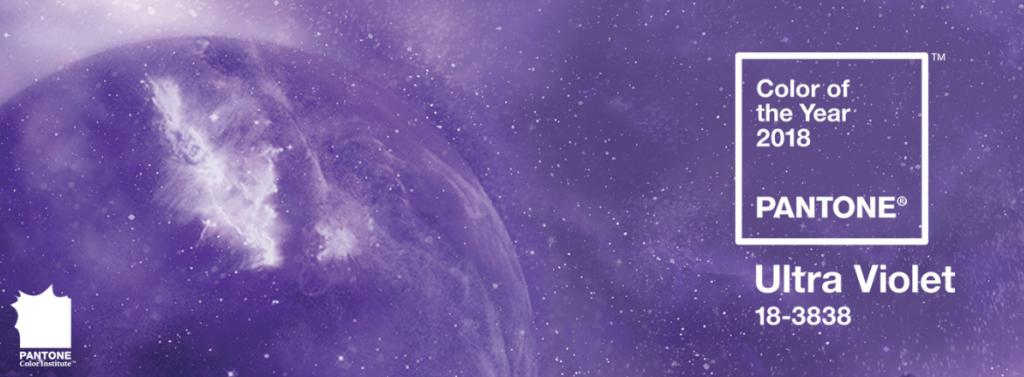 Color del año. Pantone Ultra Violet